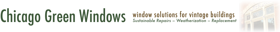 Chicago Green Windows Logo