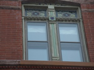 Our Work: Wood storm windows look best on the front of vintage buildings