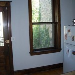 Typical late 1800's Chicago interior- new weatherstripping and chains were added
