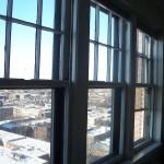 Window before work