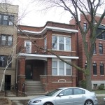 Wrigleyville two-flat converted to single family