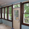 After- Windows returned to stain-grade, repaired, and weatherstripped.