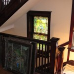 Removing stained glass sashes for repairs